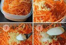 овощи морковь корейская