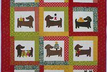 Dashound quilts