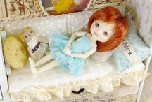 Bigger dolls and accessories / by Ginger Smith