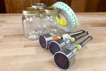 Ball Jar Ideas / by Rebecca Wasson