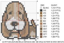 ANIMALS 6-DOG*CROSS STITCH-EMBROIDERY