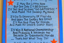 Florida Gators / All things Florida Gators  / by Nicole Black
