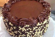 ganache torták