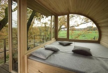Tree Houses and cabins