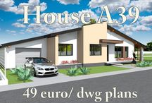 Small Bungalow house plans and blueprints