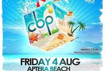 Chania beach party