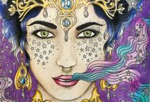 My coloring - Hanna Karlzon coloring book