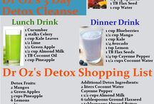 Healthy Detoxing and Cleansing / Detox your body, mind and spirit