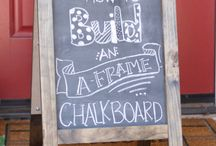 Chalkboard Products for Creative Fun / Chalk and chalkboard products provide a venue for creative expression to you, your children and your guests in some very unexpected places. Impress your guests with your witticisms, make temporary name cards for entertaining, or let your guests cut loose with a piece of chalk. Memo boards, cups, and a cutlery holder are a few of the items we carry.  Plus, for the DIY and crafty-inclined, there are lots of ideas to keep you busy for hours.
