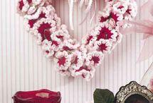 Crocheting Wreath