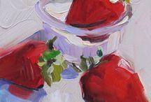 Натюрморт фрукты и ягоды