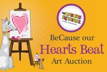 BeCause Our Hearts Beat /  Throughout the month of February, children will be creating original artwork and our centers will be auctioning them off with all proceeds going to a charity of the center's choosing! Please contact your local TLE for more event details. We encourage you to share your child's heart-inspired artwork with us by using our special #BeCauseOurHeartsBeat hashtag!