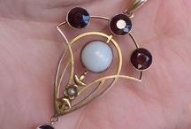 Jugendstil jewelry / art noveau