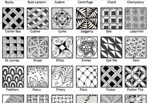 Tramas y patrones Mandalas y Zentangles