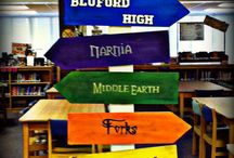 School Library Decor Ideas / by Ashley Snelgrove