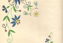 Needlework, cross stitch, sewing advice / haft, ściegi ręczne, szycie