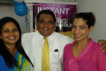 Amadeus Lanka team at the inauguration ceremony of Sharmila / Amadeus Lanka team at the inauguration ceremony of Sharmila