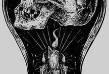 Skull, Metal & afins