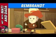 Artist video for kids