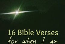 BIBLE VERSES / by Shirley J