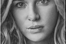 Rysunek portrety