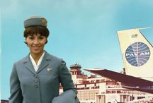 vintage stewardess / If I had lived in the 60s, I'd have definitely been a Pan Am stewardess. Or any airline stewardess, really.