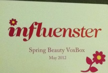 Voxbox / Influenster.com Best website ever if you want to try new products. AND the best part is that it is totally free. Complimentary for testing purposes.  / by Devon Mumford