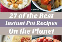 Recipes- instant pot