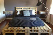 bedding wooden