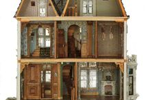 Antique Dollhouse / Pictures of quality custom antique dollhouses from around the world. / by Dollhouse Mansions