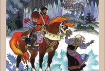 Русские народные сказки.Иван Билибин