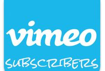 Buy Vimeo subscribers / Buy Vimeo subscribers for as low as $7 for 100 Subscribers! Have users Subscribe to you Vimeo account and sit back and watch that number grow!