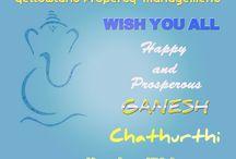 Ganesh Chathurthi / Happy Ganesh Chaturthi too All