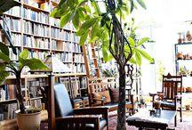 Study / home, design, furniture, space, storage, light, colour
