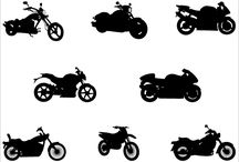 Vehicles Silhouette Vector