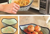 Hot food sewing holders