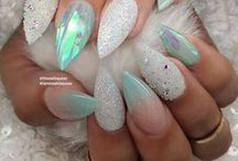 Pastel Nails / Pastel nails, pretty nail art, spring inspired manicures.