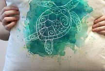 Fabric paint/stencil ideas
