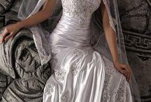 Beautiful wedding dresses. / by Debra Bible