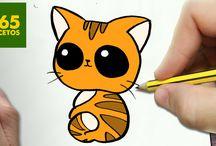 Kawaii tekeningen