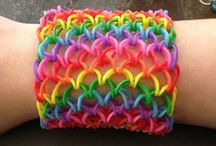 Crafts - Loom bands / by Elvira Massa
