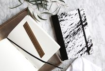 Paper Lobe Marble Notebook