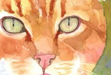 Orange Tabby / by Ginni Cole