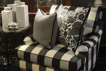 Black & White Furniture... / Please remember to follow Pinterest etiquette and don't power pin.