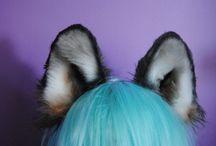 Ушки и хвостики / Ушки, хвостики и лапки. А так же прочая тематическая милота.