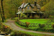 Prachtige oude huizen