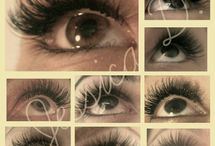 eyelash extensions / by Melissa Gibson