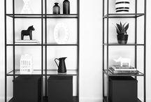side table/shelves