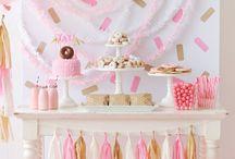 buffet d'anniversaire fille
