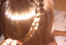 Probadores de peinados mios / Los ratos libres y aburridos, en mi family probamos peinados :P